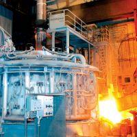 میزان مصرف آهن قراضه در کورههای قوس الکتریکی در جهان