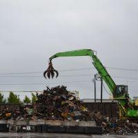 فرآوری آهن قراضه در کارخانه های فولادسازی
