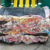 فروش ضایعات پلاستیک پرس شده