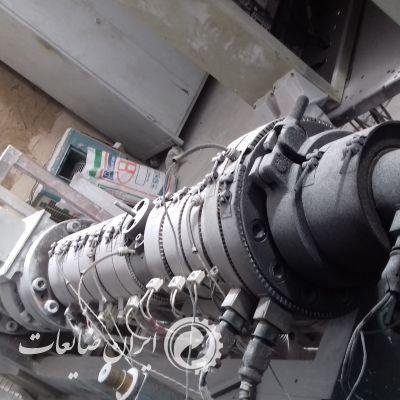 دستگاه گرانول ساز pvcخشک دو ماردون