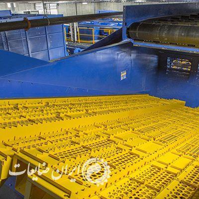 جداسازی ضایعات پلاستیک در محیط خشک