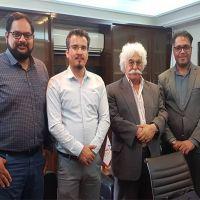 حضور عبداللطیف فرهانی در جمع هیئت مدیره ایران ضایعات