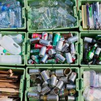 تفکیک و جداسازی پسماندها ، مواد خشک یا جامد ، مواد تر