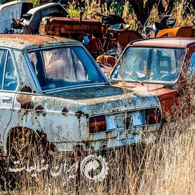 جمع آوری خودرو های قراضه در پایتخت