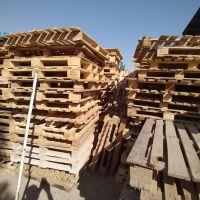چوب سفید وپالت چوبی