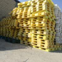 پالت پلاستیکی زرد ۱۸ کیلویی