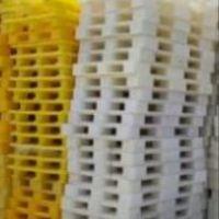 خریدپالت پلاستیکی سفید زرد مشکی