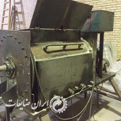خط تولید دستگاه گرانول و نوار پی وی سی