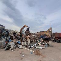 آهن قراضه صنعتی و ساختمانی چدن استیل وسفاله واکسید