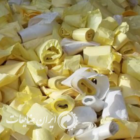 خرید کاغذپشت لیبل زرد وسفید