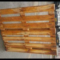 پالت چوبی، 100 در 120 مقاوم برای 1.3 تن بار