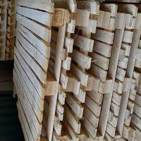 فروش پالت چوبی تمیز زیر مواد pp بوده