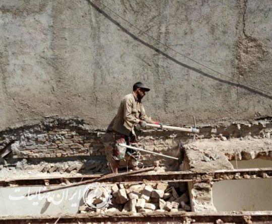 تخریب ساختمان و خرید ضایعات ساختمانی