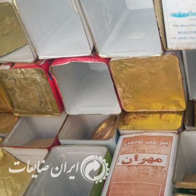 فروش حلب ۱۷ کیلویی پنیر