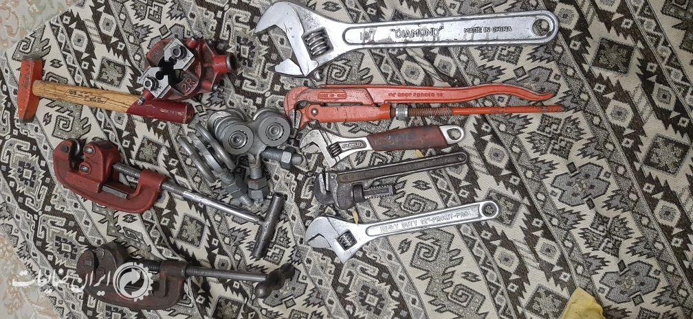 آچار و ابزار آلات نو  و در حد نو