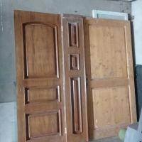 درب چوبی ضایعات