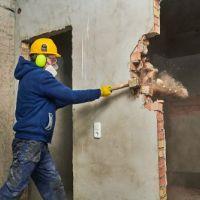 تخریب ساختمان های گنبه ای تیراهنی و..