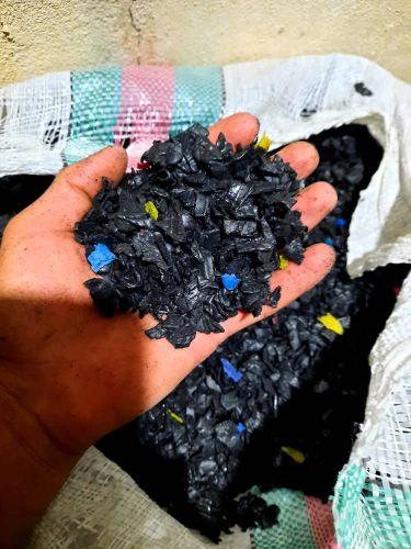 ضایعات پلاستیکی مشکی تزریقی
