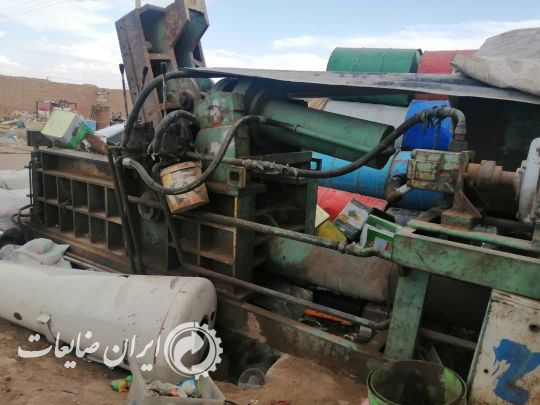 دستگاه پرس حلب و اهن
