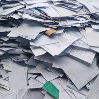خرید انواع ضایعات کاغذ .پرونده .پوشال .پشت طوسی و.....