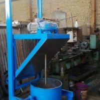 ساخت دستگاه همزن خاک سرباره الومینیوم
