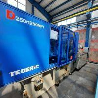 فروش دستگاه تزریق پلاستیک 250 تن تدریک