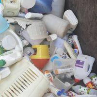 ضایعات پلاستیک چهار رنگ