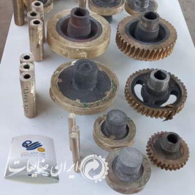 فروش وتولید قطعات ریخته گری پایه مس آلومینیوم